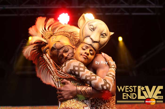 West End Live 2015 line up - Disney's The Lion King