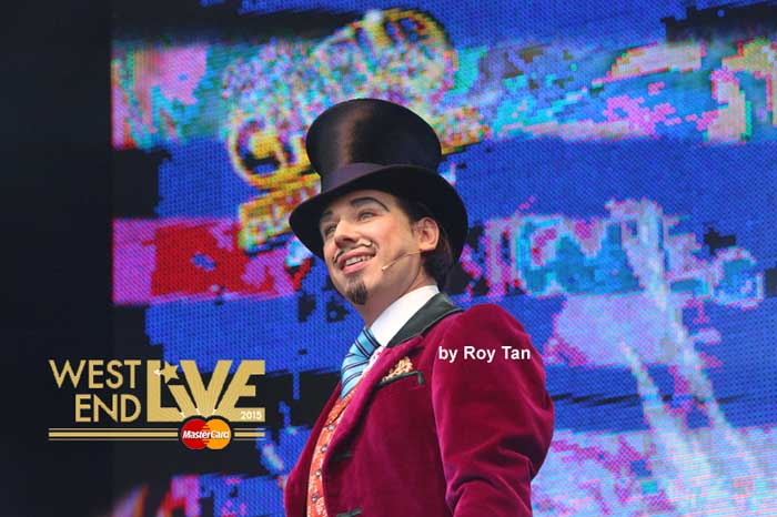 West End Live 2015 line up - Charlie and the Chocolate Factory