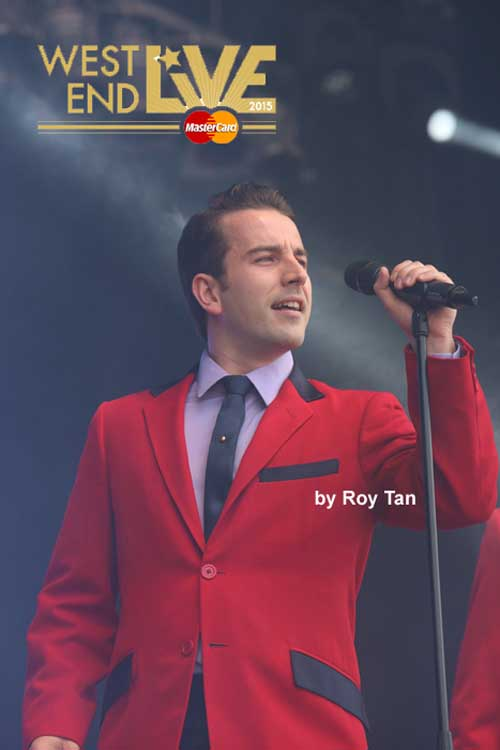 West End Live 2015 line up - Jersey Boys