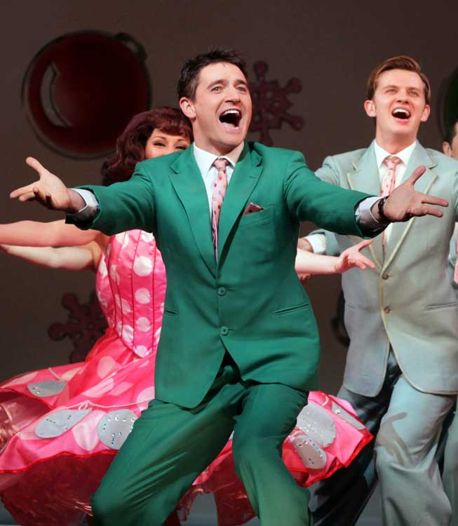 Tom Chambers in WHITE CHRISTMAS. Photo: Mike Urwin (Photos from previous productions)