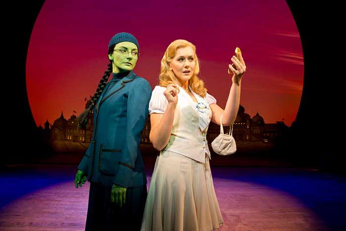 Wicked 2013 London cast