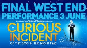 Final artwork for The Curious Incident of The Dog in the Night-Time, London