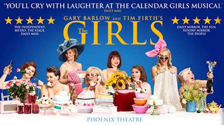May Calendar Girl Book : The girls tickets phoenix theatre calendar