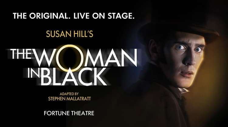 | The Woman in Black at the Fortune Theatre