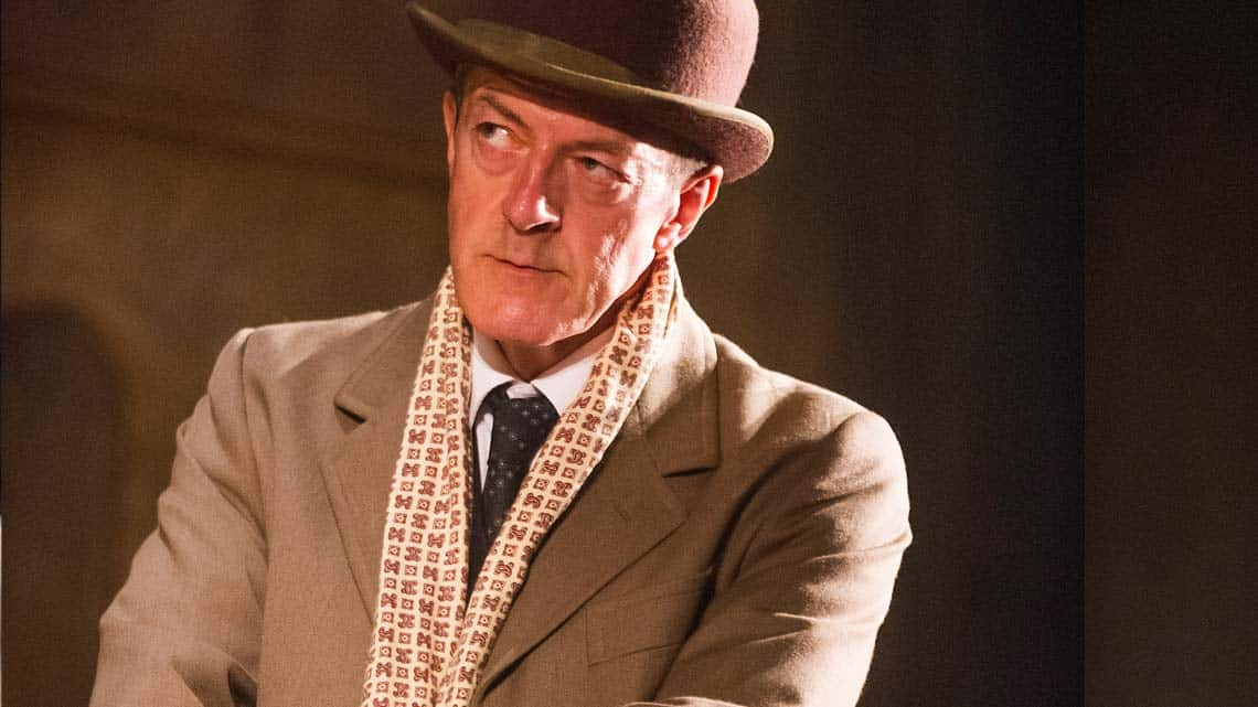 Malcolm James as Arthur Kipps in The Woman in Black | New cast for West End thriller The Woman In Black