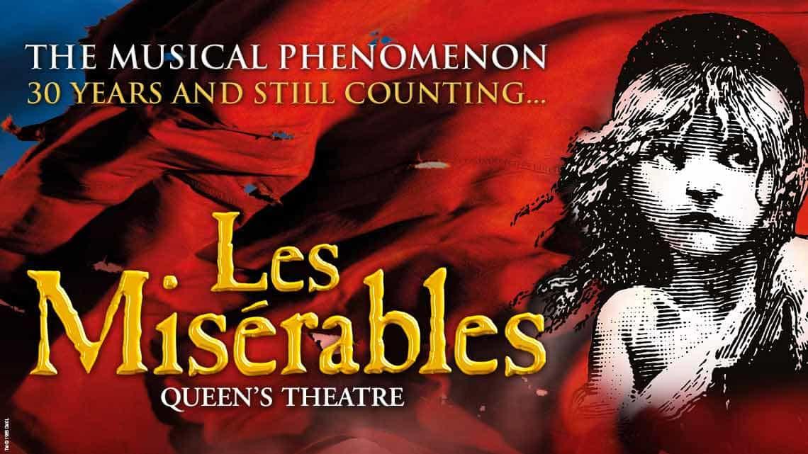 Matt Lucas Temporarily Joins Cast Of Les Miserables At The Sondheim Theatre Westendtheatre Com London Theatre Tickets