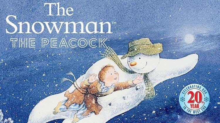The Snowman - Peacock Theatre 2017