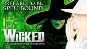 Wicked at the Victoria Apollo Theatre