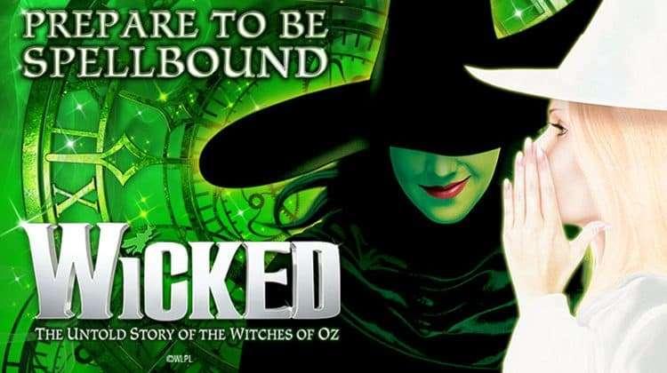 Wicked at the Victoria Apollo Theatre