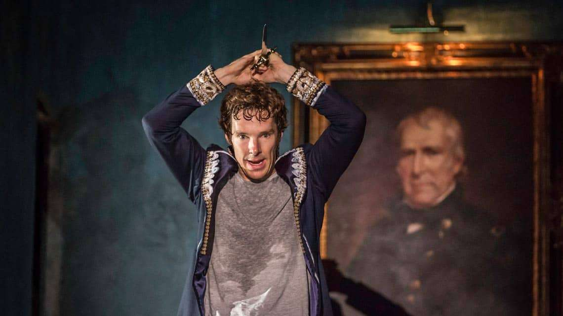 Benedict Cumberbatch|Hamlet |Photo: Johan Persson | A reviews round-up for Hamlet starring Benedict Cumberbatch at the Barbican theatre.