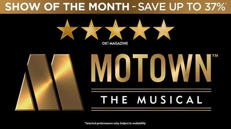 Motown The Musical - Shaftesbury Theatre London