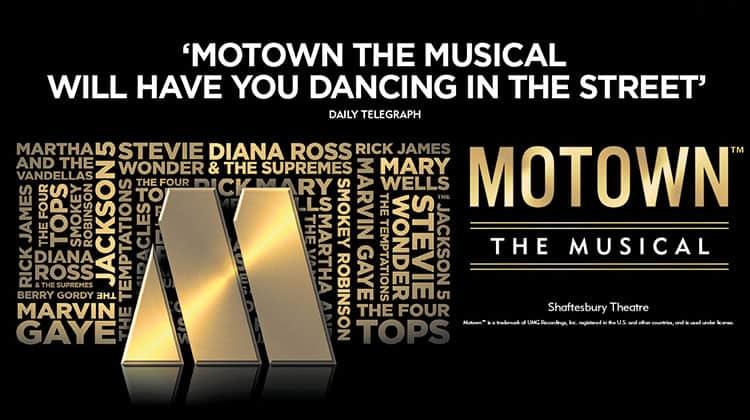 Motown The Musical artwork 2018, London