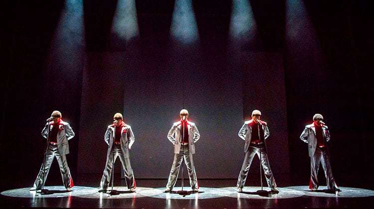 | Motown The Musical at the Shaftesbury theatre
