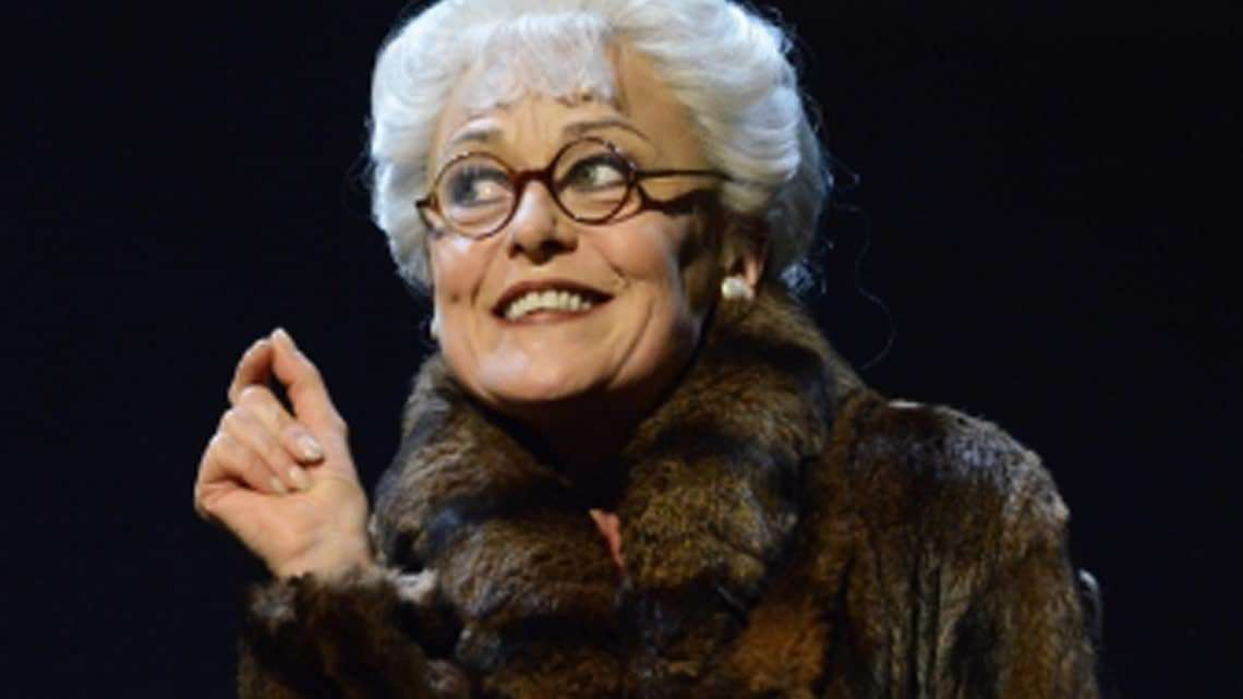 Tracie Bennett in Mrs Henderson Presents. Photos: Nobby Clark | Reviews round-up: Mrs Henderson Presents at Theatre Royal Bath