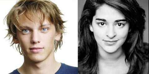 Jamie Campbell Bower and Natalie Dew