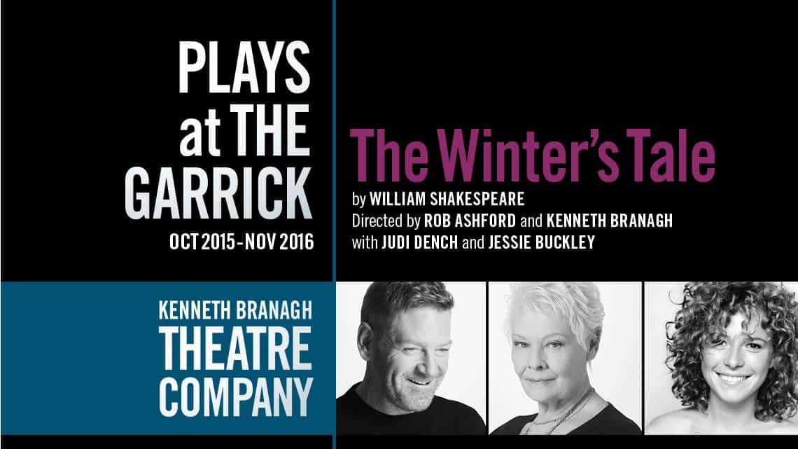 The Winter's Tale | Garrick Theatre | Kenneth Branagh's new season – Romeo & Juliet & The Entertainer