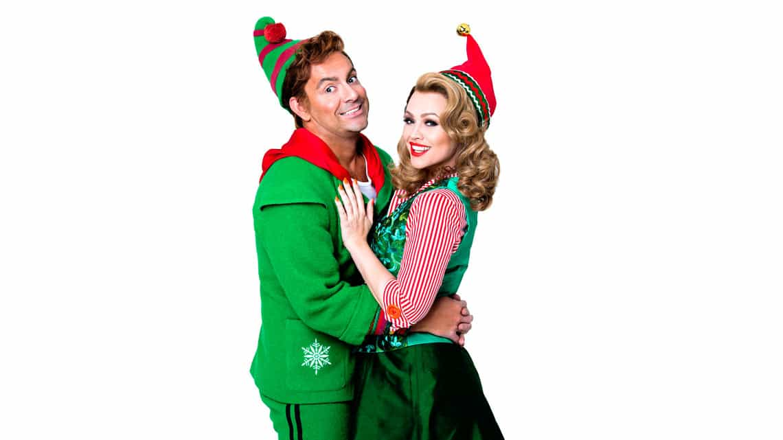 Ben Forster and Kimberley Walsh | Elf The Musical | Dominion Theatre | Elf The Musical – Christmas 2015
