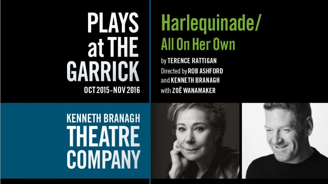 Harlequinade / All On Her Own |Garrick Theatre | Kenneth Branagh's season of plays at the Garrick