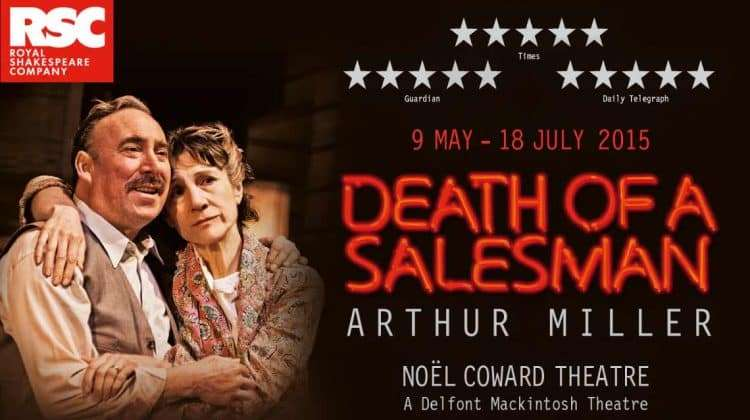 a review of arthur millers play death of a salesman Arthur miller's classic drama about a tragic american family gets a bold and   review: a terrific new take on classic 'death of a salesman' in oakland  every  once in a while there's a production of a classic play that not only.