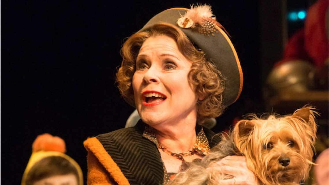 Imelda Stuanton in Gypsy | Gypsy at the Savoy Theatre starring Imelda Staunton