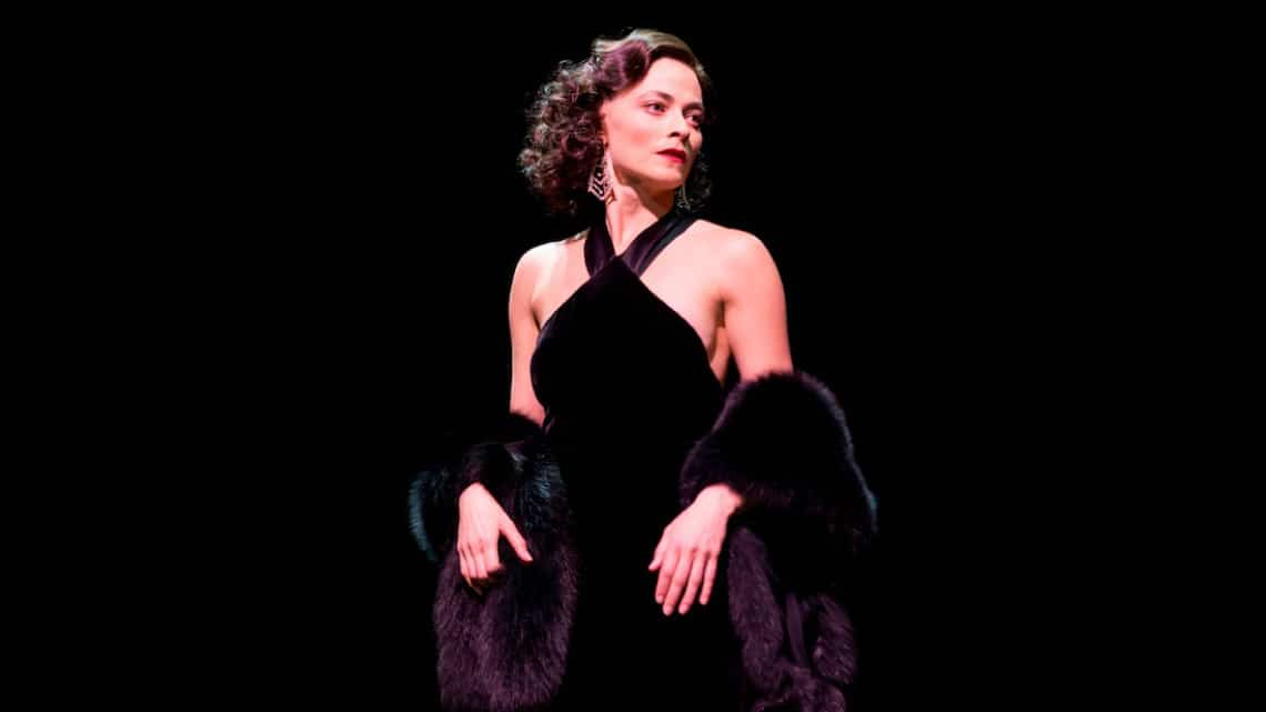 Lara Pulver in Gypsy  | Gypsy at the Savoy Theatre starring Imelda Staunton