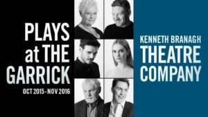 Plays at The Garrick| Kenneth Branagh Season