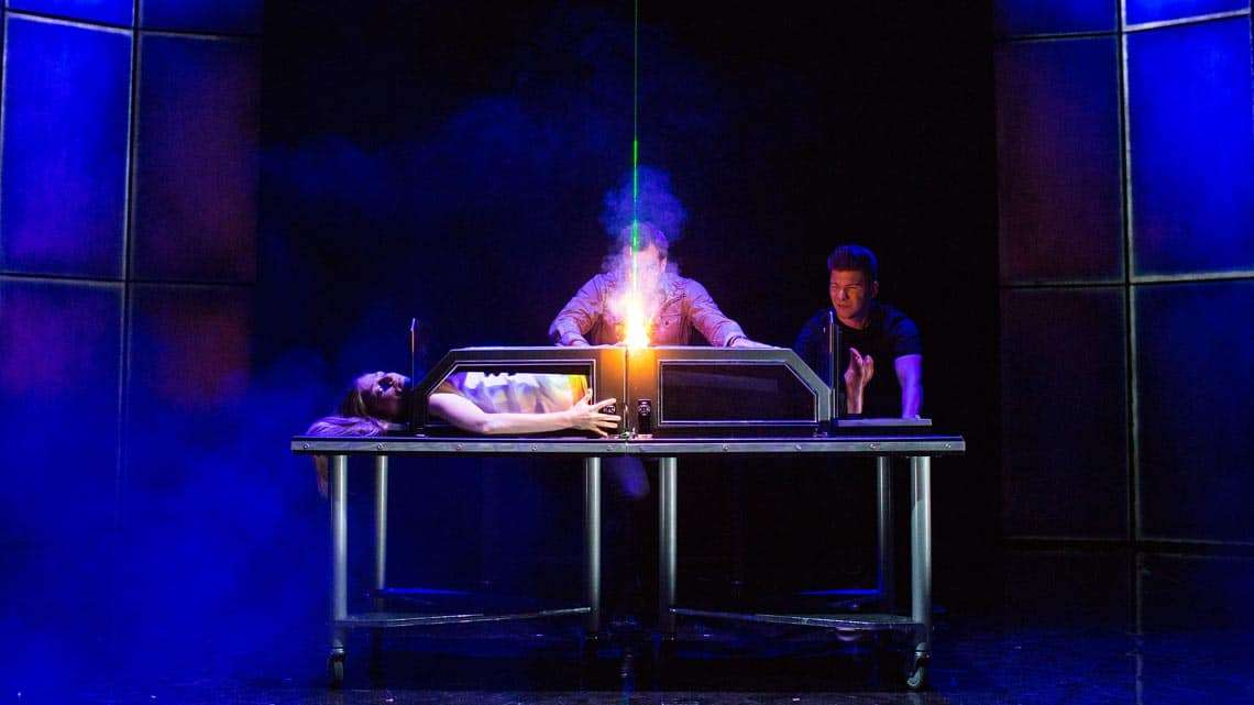   Photos: Impossible London's new death-defying magic show