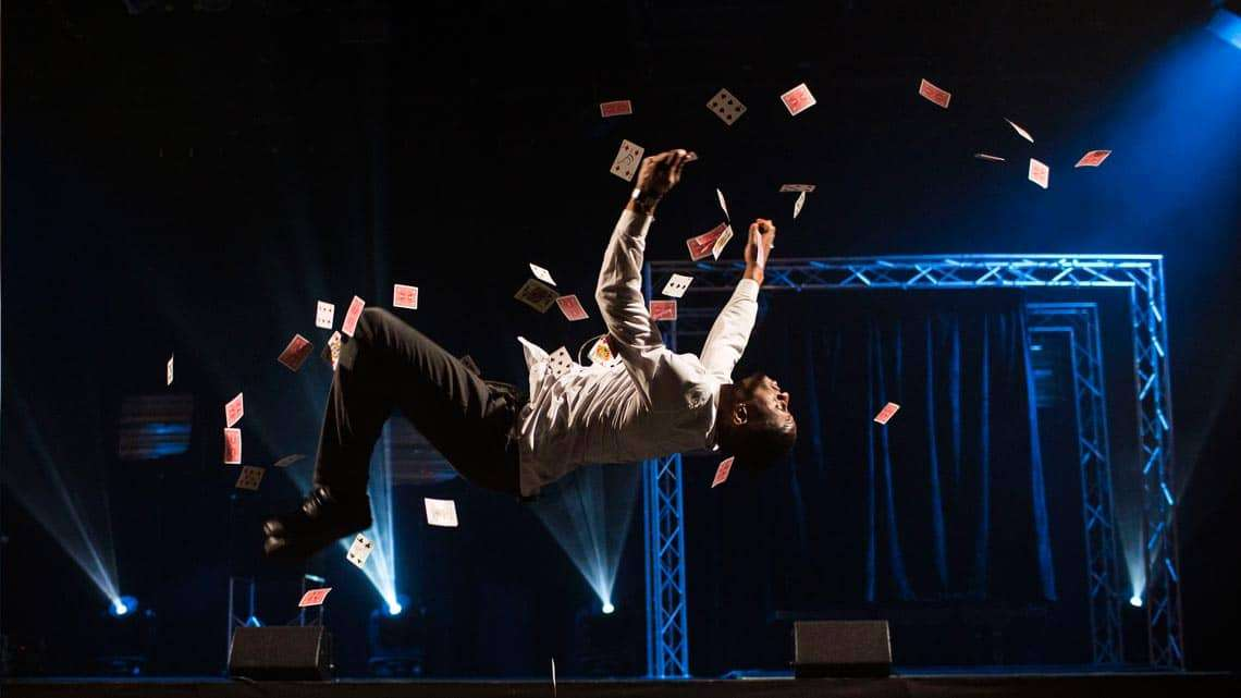 | Photos: Impossible London's new death-defying magic show