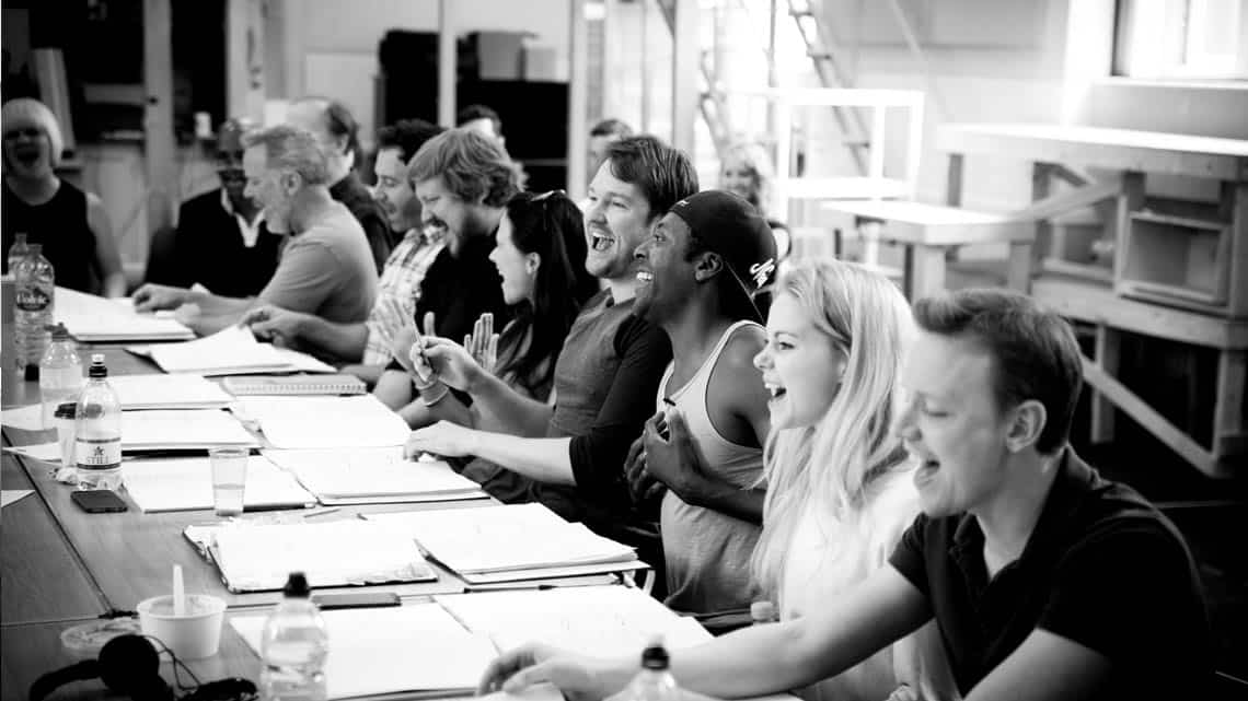 | Photos: Kinky Boots rehearsal