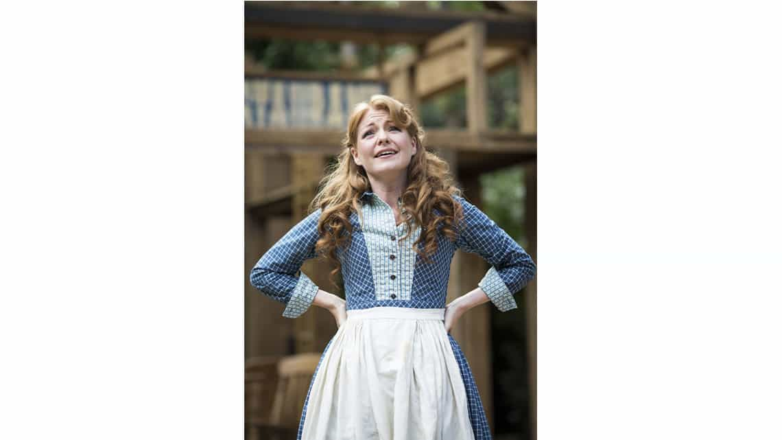 | Photos: Seven Brides for Seven Brothers at the Regents Park Open Air theatre