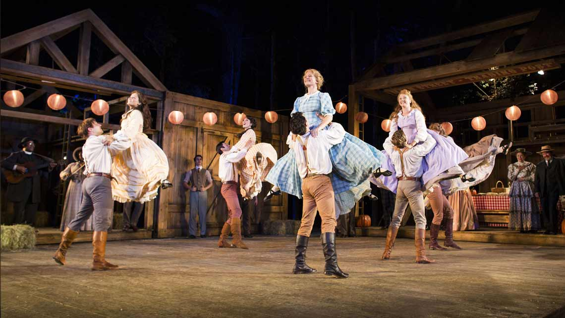 | Casting announced for Seven Brides for Seven Brothers