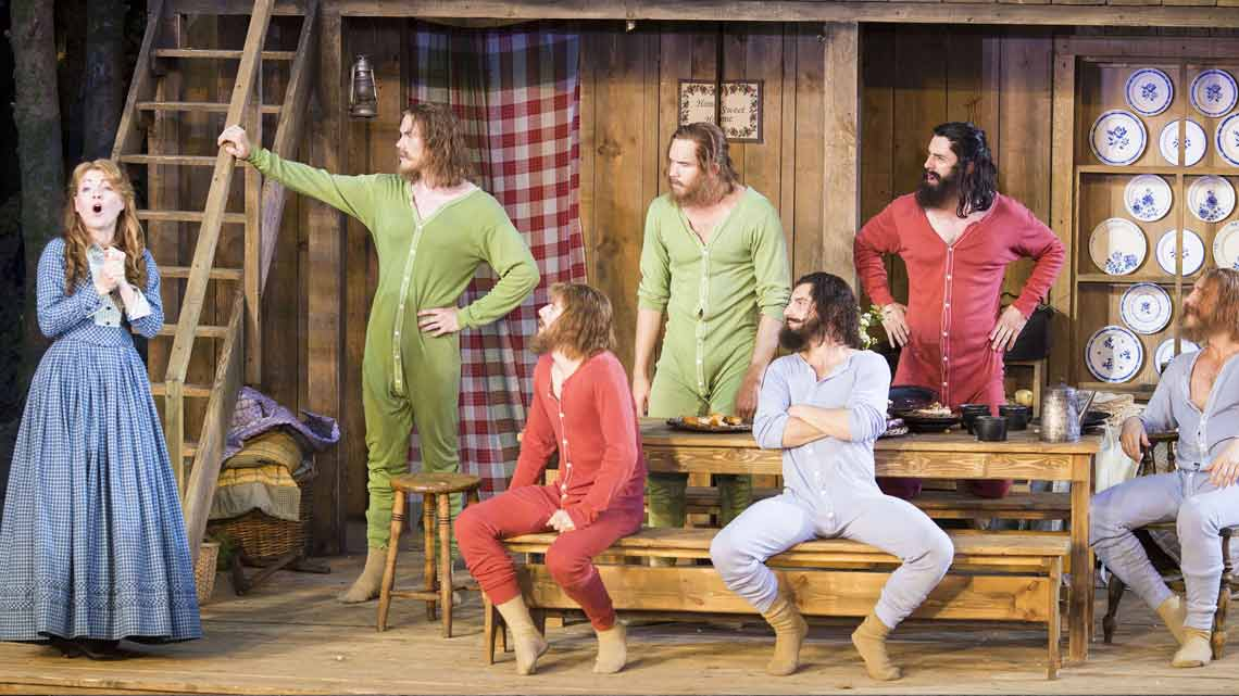   Casting announced for Seven Brides for Seven Brothers