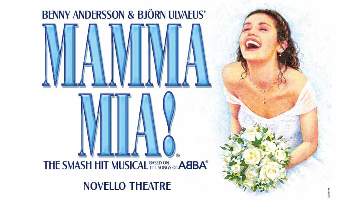 | Mamma Mia! at the Novello Theatre