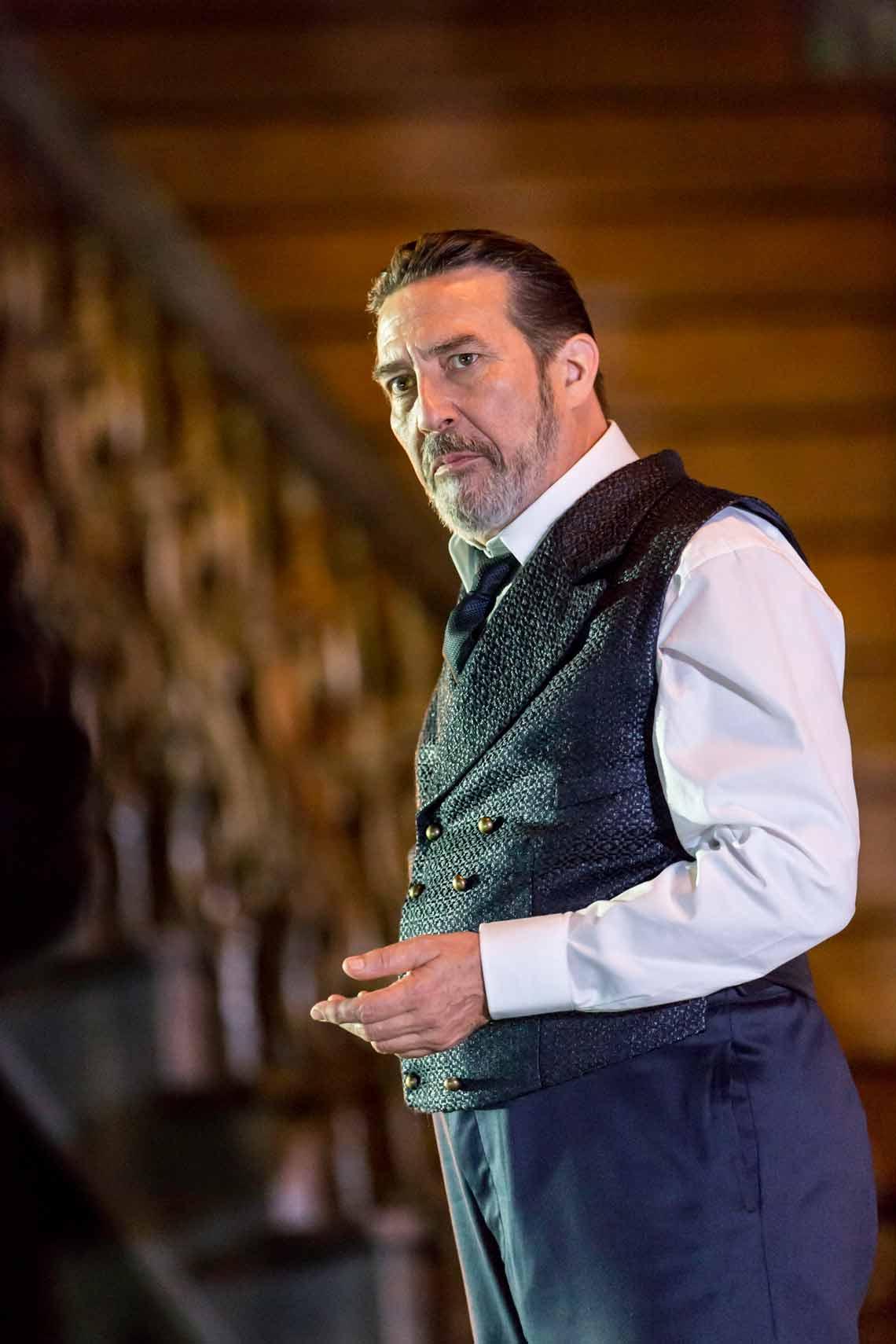 Ciarán Hinds|Hamlet |Photo: Johan Persson | Photos: Benedict Cumberbatch in Hamlet at the Barbican