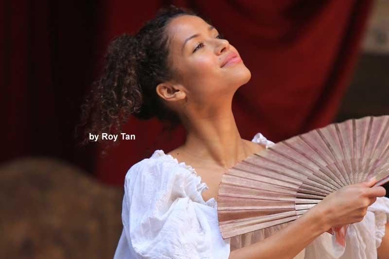 Gugu Mbatha-Raw | Nell Gwynn | Shakespeare's Globe Theatre | Photo: Roy Tan | Photos: Nell Gwynn at Shakespeare's Globe