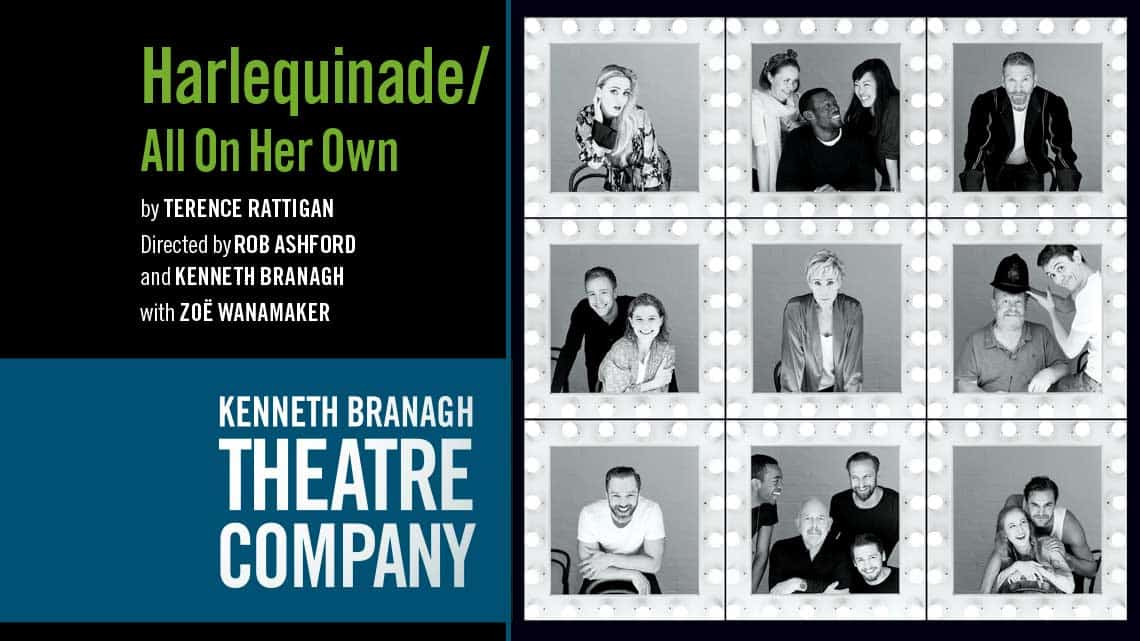 Harlequinade / All On Her Own |Garrick Theatre | First Look: Judi Dench and the Kenneth Branagh season
