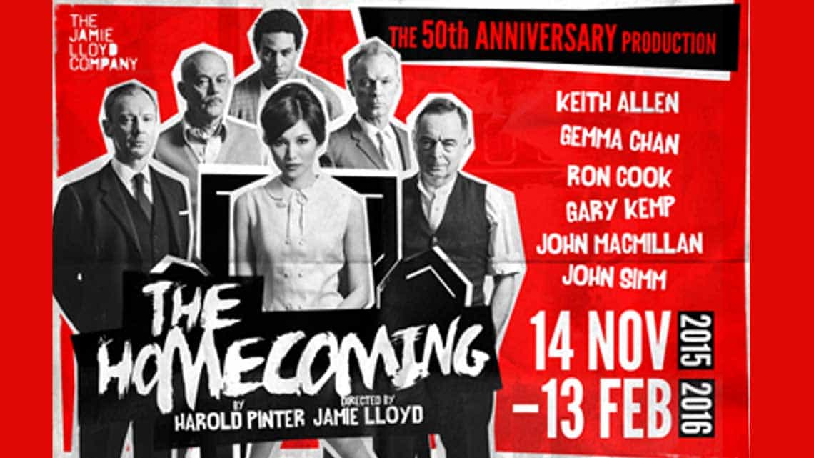 | The Homecoming at the Trafalgar Studios