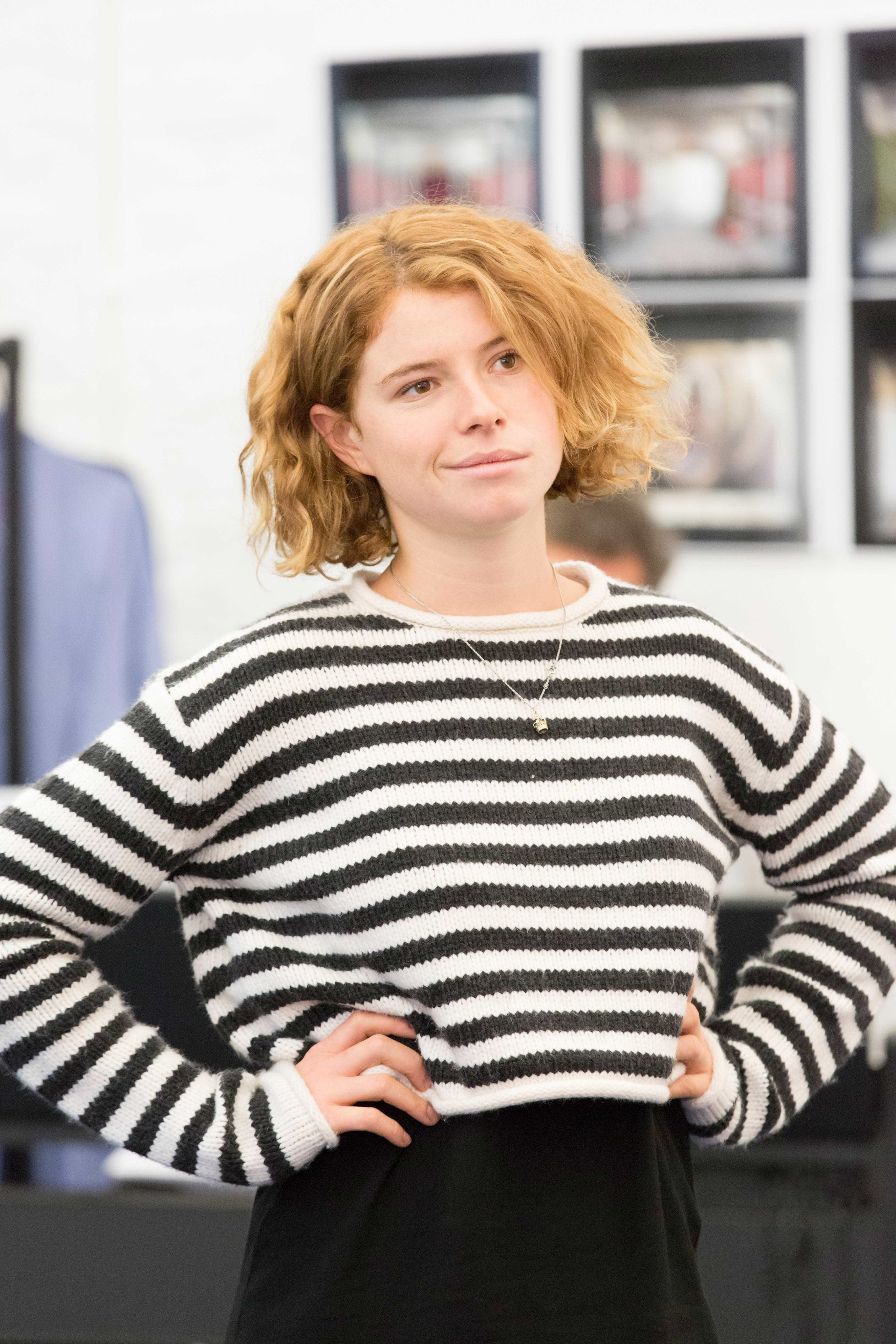 Jessie Buckley in rehearsals for Harlequinade. Credit Johan Persson | Rehearsal images of Kenneth Branagh's Harlequinade