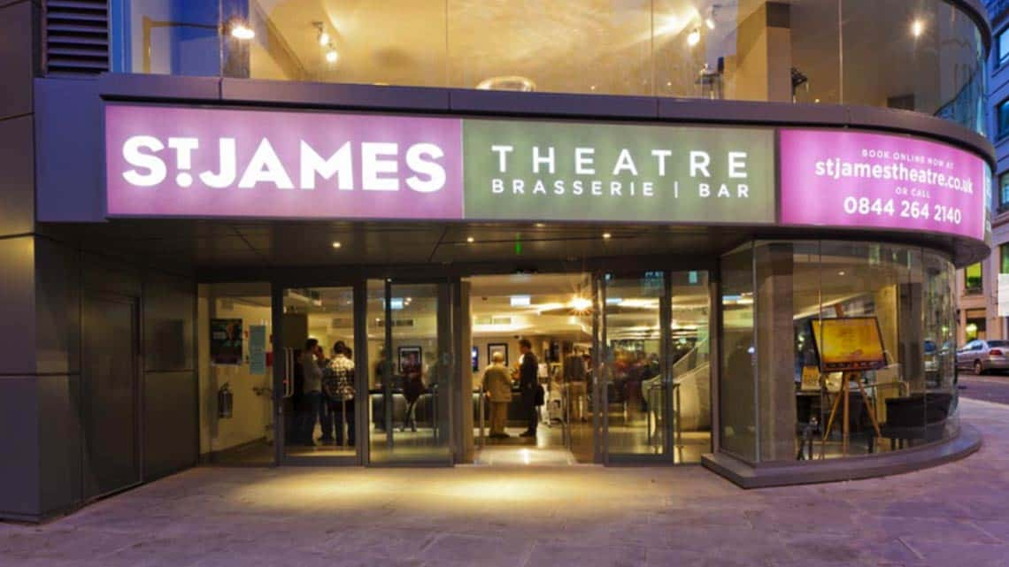 | St. James theatre announces Spring 2016 season.