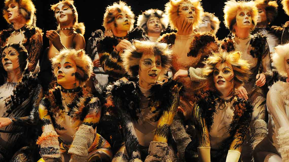 CATS | Photo: Alessandro Pinna | CATS at the London Palladium