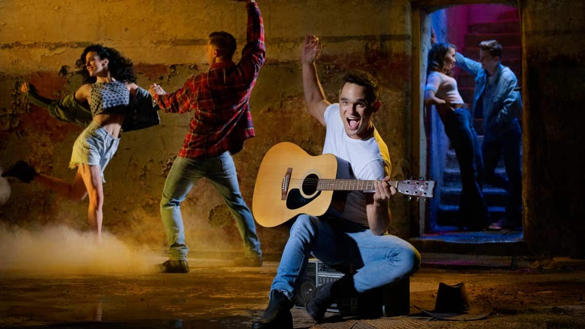 | Gareth Gates to star in UK tour of Footloose: The Musical