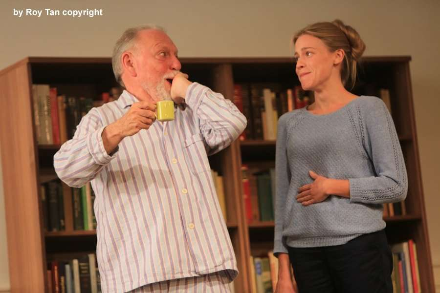 The Father | Wyndham's Theatre | Photo: Roy Tan | First look at Claire Skinner in The Father