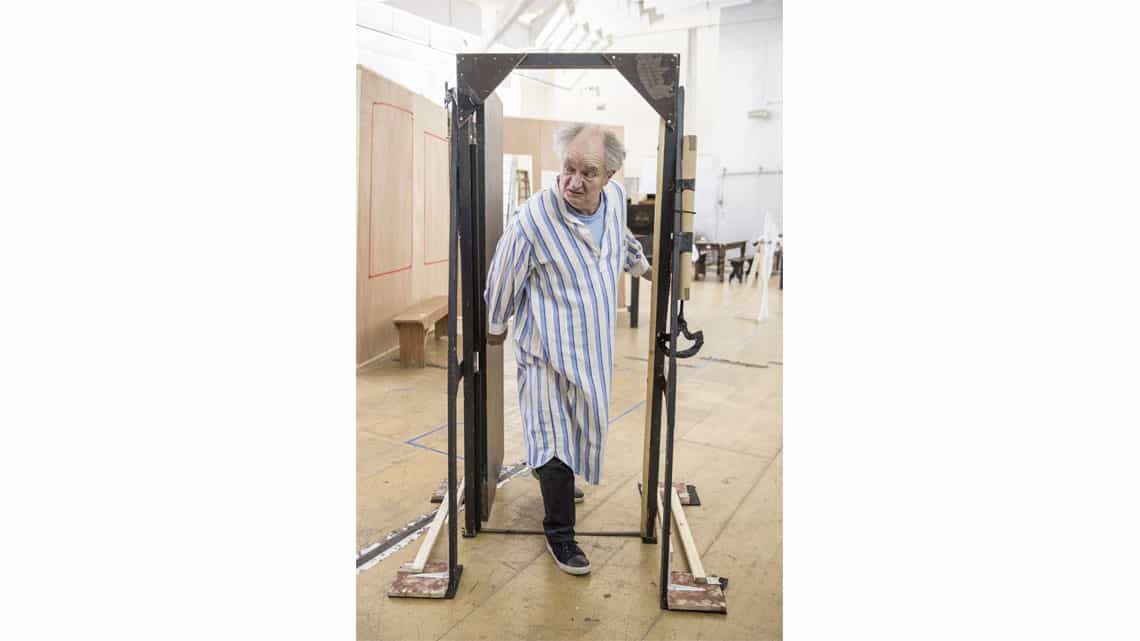 A Christmas Carol rehearsal | Jim Broadbent. | Photo: Marc Brenner | First Look: Jim Broadbent in rehearsal for A Christmas Carol