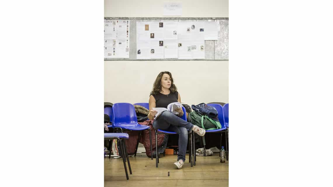 A Christmas Carol rehearsal | Samantha Spiro | Photo: Marc Brenner | First Look: Jim Broadbent in rehearsal for A Christmas Carol