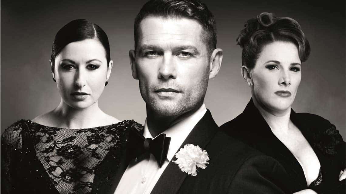 John Partridge, Hayley Tamaddon and Sam Bailey | Chicago National Tour