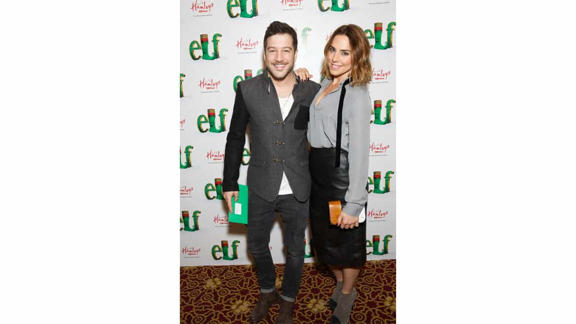 Matt Cardle and Melonie Chisolm | Gala Night for Elf | Photo: Piers Allardyce | Photos: Stars come out for Elf Gala Night