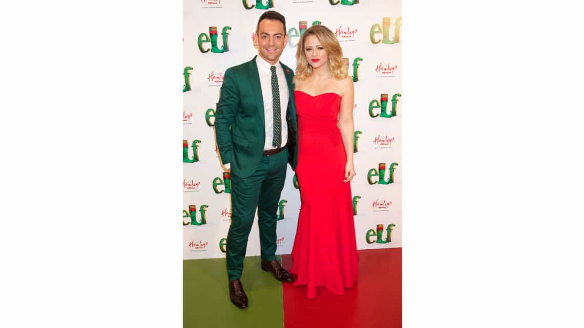 Ben Forster and Kimberley Walsh | Gala Night for Elf | Photo: Piers Allardyce