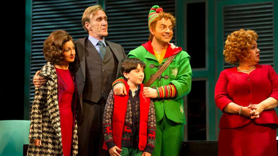 Elf The Musical | Photo: Alastair Muir | Elf The Musical at the Dominion Theatre