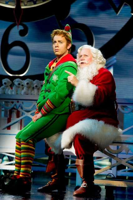 Elf The Musical | Photo: Alastair Muir | First Look: Ben Forster and Kimberley Walsh in ELF The Musical
