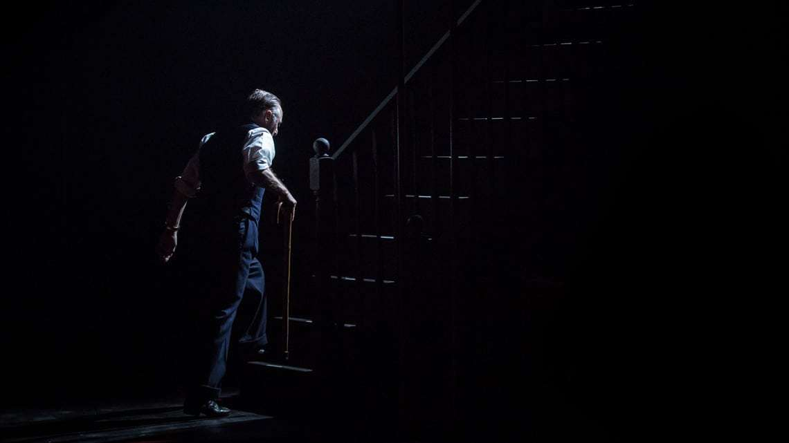 Ron Cook in The Homecoming |Photo: Marc Brenner | First Look: Jamie Lloyd's The Homecoming